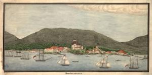 1863 Rus Yelkenli Teknelerinin Amerika Kiyilarini San Francisco Ziyareti Yagli Boya Sanat Kanvas Tablo