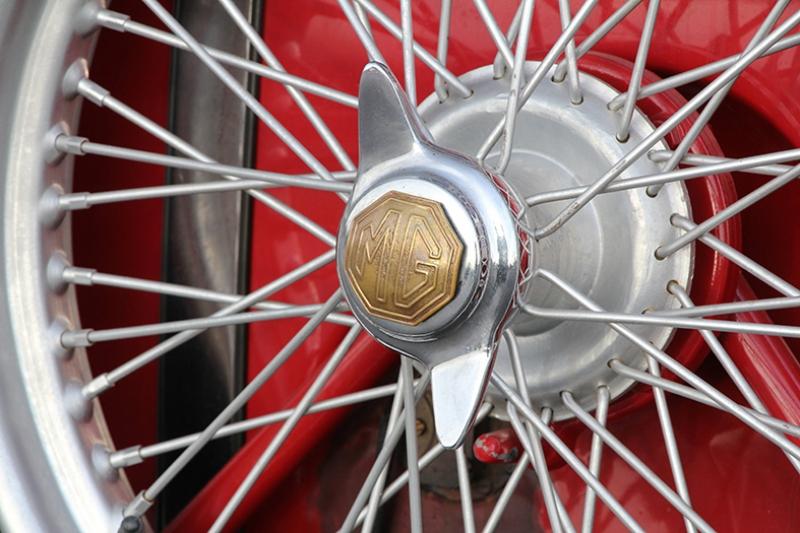 1948 MG Sport Roadster Jant Araçlar Kanvas Tablo