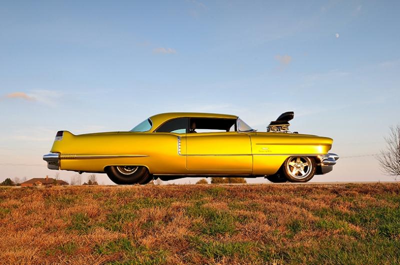 1956 Cadillac Coupe Otomobil Araçlar Kanvas Tablo