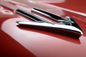 1958 Pontiac Bonneville Araçlar Kanvas Tablo
