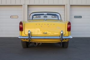 1965 Triumph Klasik Araçlar Kanvas Tablo