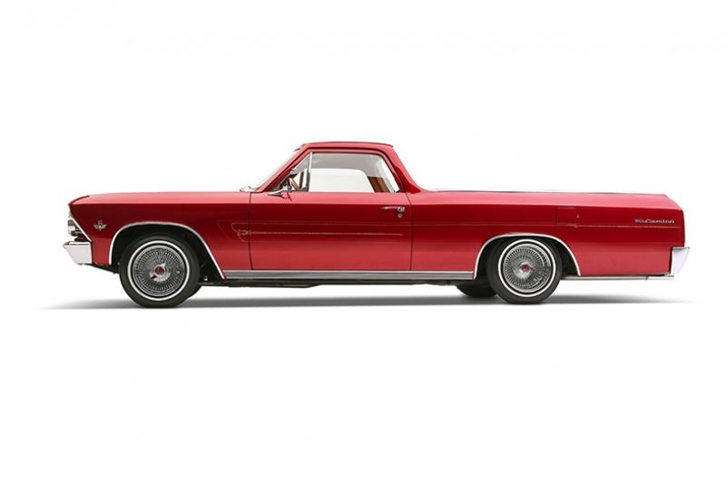 1966 Chevrolet El Camino Otomobil Araçlar Kanvas Tablo