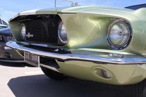 1967 Model Ford Mustang Farlar 3 Klasik Otomobiller Kanvas Tablo