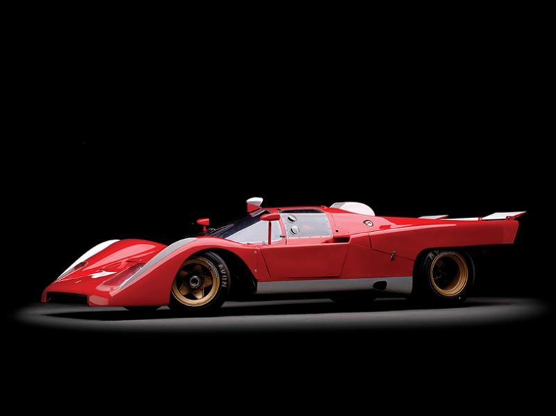 1970 Ferrari 512 M Araçlar Kanvas Tablo