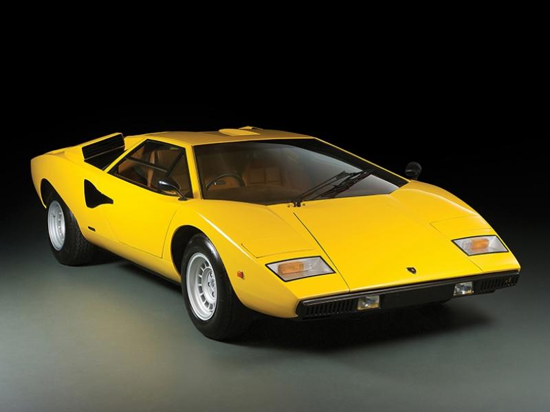 1973 Lamborghini Countach 2 Araçlar Kanvas Tablo