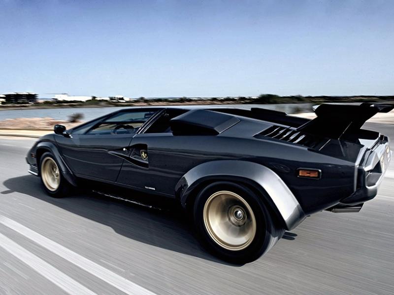 1985 Lamborghini Countach 5000 Quattrovalvole Araçlar Kanvas Tablo