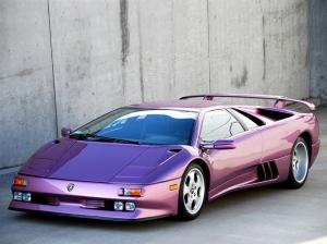 1994 Lamborghini Diablo SE30 2 Araçlar Kanvas Tablo