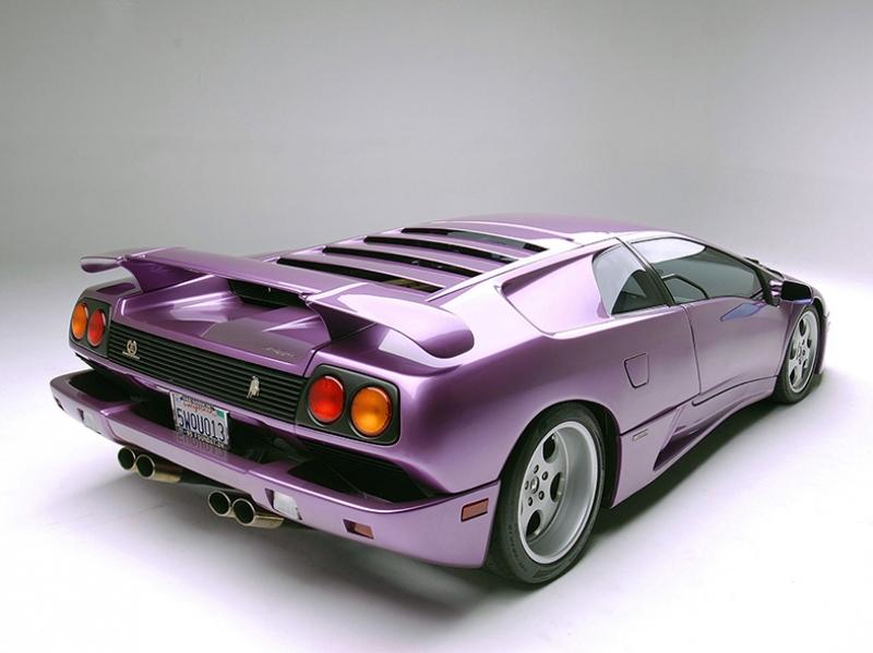 1994 Lamborghini Diablo SE30 Araçlar Kanvas Tablo