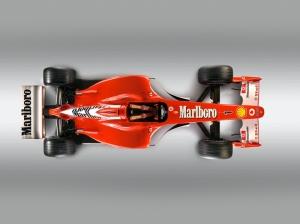 2002 Formula 1 Ferrari F2002 2 Araçlar Kanvas Tablo