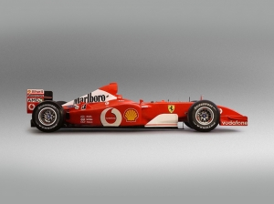 2002 formula 1 Ferrari F2002 Araçlar Kanvas Tablo