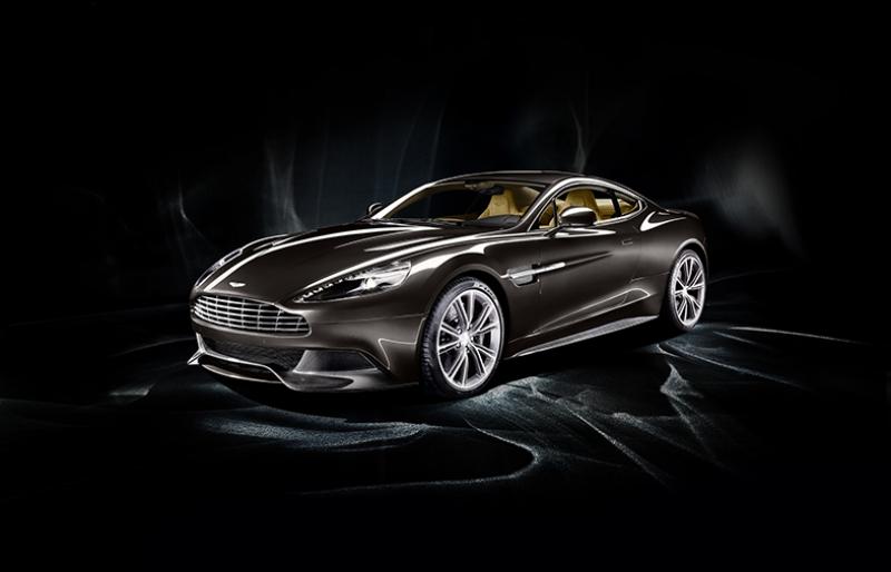 2012 Aston Martin Vanquish Araçlar Kanvas Tablo