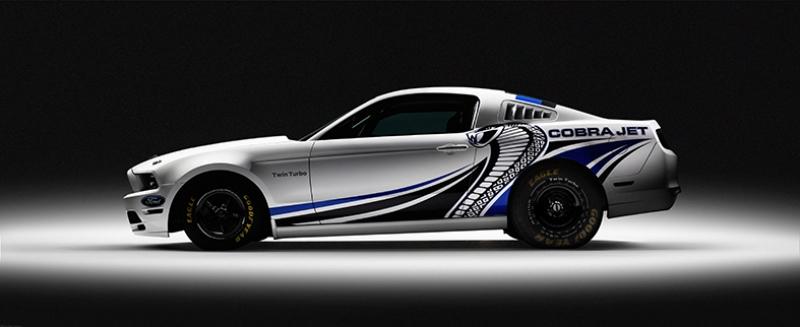 2012 Ford Mustang Cobra Jet 2 Araçlar Kanvas Tablo