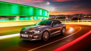 2015 Ford Mustang Spor Otomobiller Kanvas Tablo