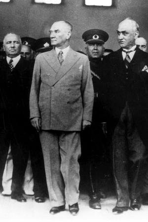 24 Mayis 1938 Mustafa Kemal Ataturk-2 Kanvas Tablo