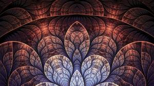 3 Boyutlu Yapraklar Fotoğraf Kanvas Tablo