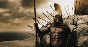 300 Spartalı Kanvas Tablo