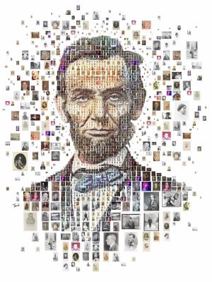 Abraham Lincoln Popüler Kültür Kanvas Tablo