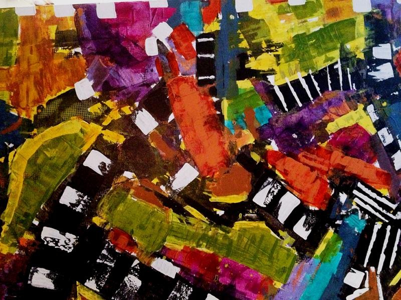 Abstract 13 Sanat Kanvas Tablo