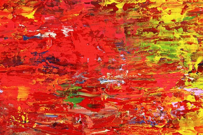 Abstract 14 Sanat Kanvas Tablo