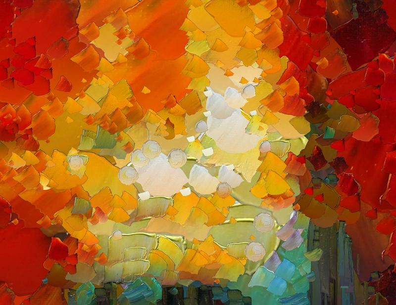 Abstract 2 Sanat Kanvas Tablo