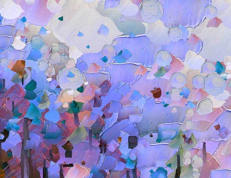 Abstract 3 Sanat Kanvas Tablo