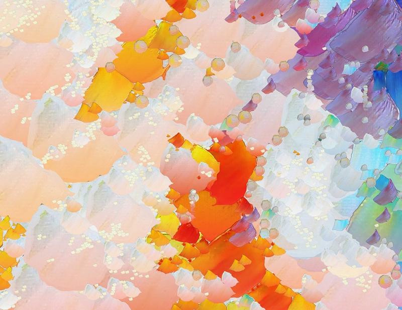 Abstract 5 Sanat Kanvas Tablo