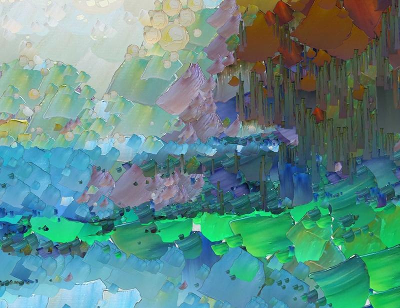 Abstract 6 Sanat Kanvas Tablo