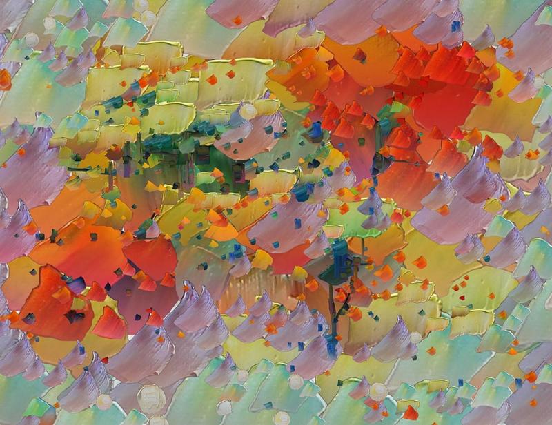 Abstract 8 Sanat Kanvas Tablo