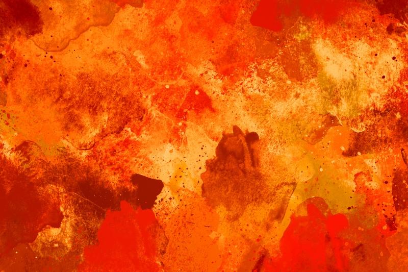 Abstract Desenler Modern Watercolor Kanvas Tablo 10