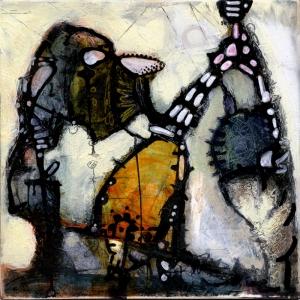 Abstract Düzenleme Yağlı Boya Sanat Kanvas Tablo