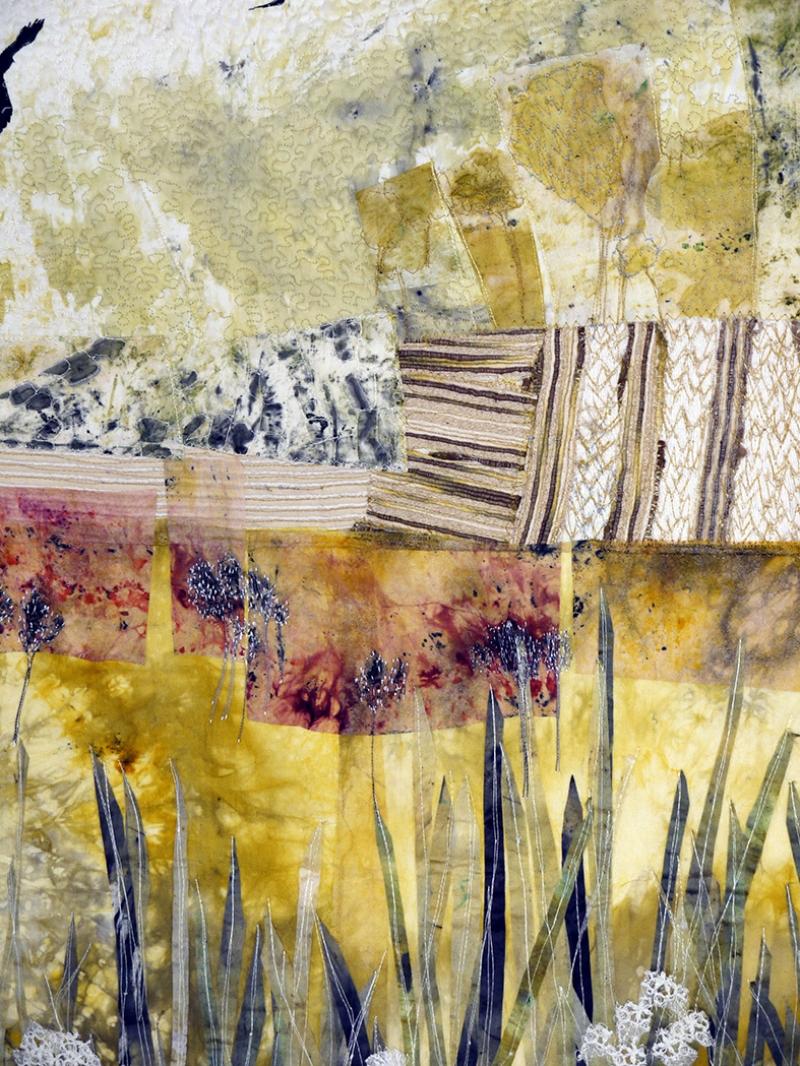 Abstract Kolaj 2 Yağlı Boya Sanat Kanvas Tablo
