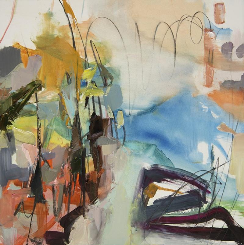 Abstract Kompozisyon 12 Yağlı Boya Sanat Kanvas Tablo