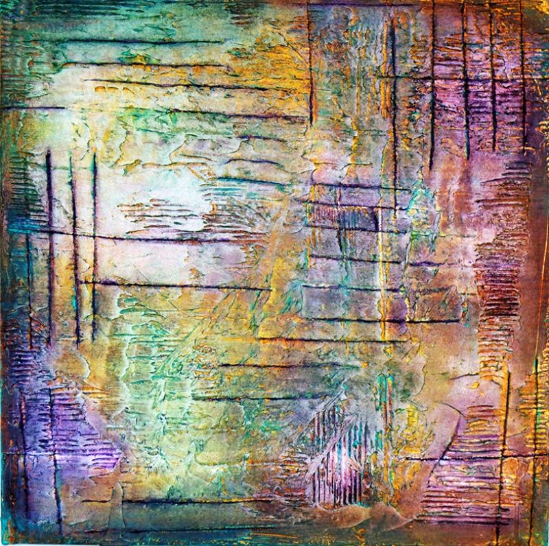 Abstract Kompozisyon Soyut Yağlı Boya Sanat Kanvas Tablo