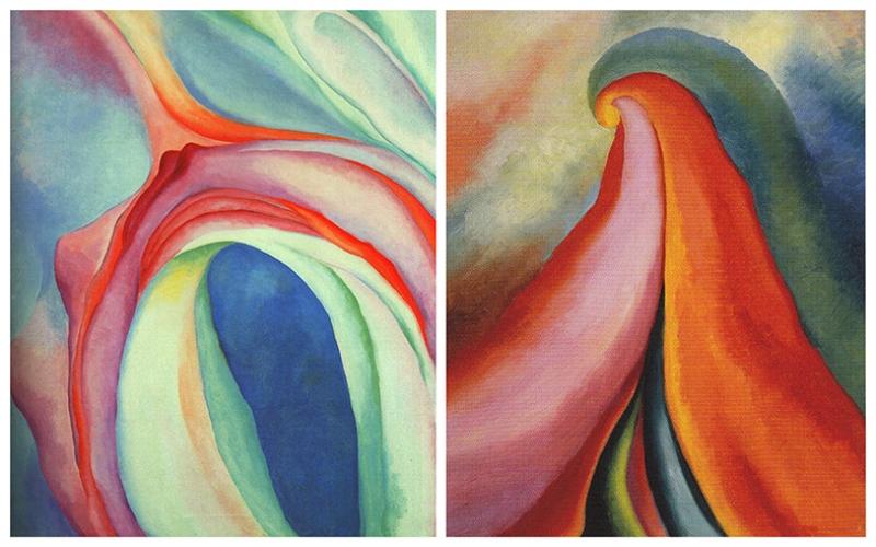 Abstract Mistaken Sensuality Yağlı Boya Sanat Kanvas Tablo