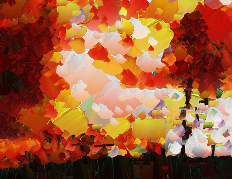 Abstract Sanat Kanvas Tablo