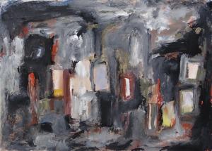Abstract Tablo 5 Soyut Yağlı Boya Sanat Kanvas Tablo