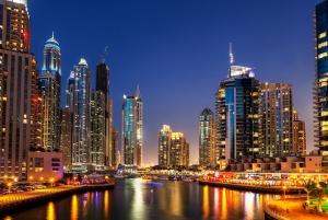 Abu Dabi Dünyaca Ünlü Şehirler Kanvas Tablo
