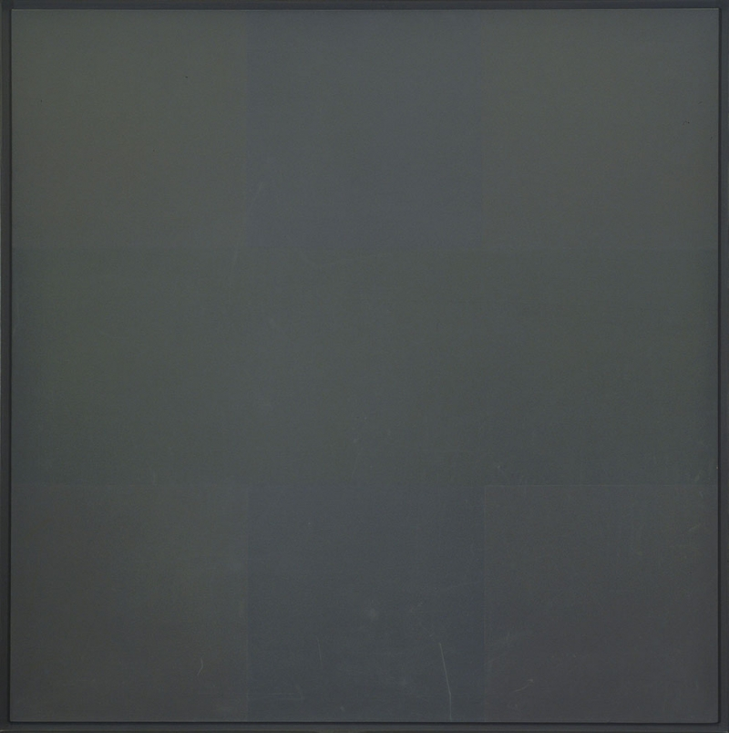 Ad Reinhardt  5 Gri Zemin Soyut Abstract Klasik Sanat Canvas Tablo