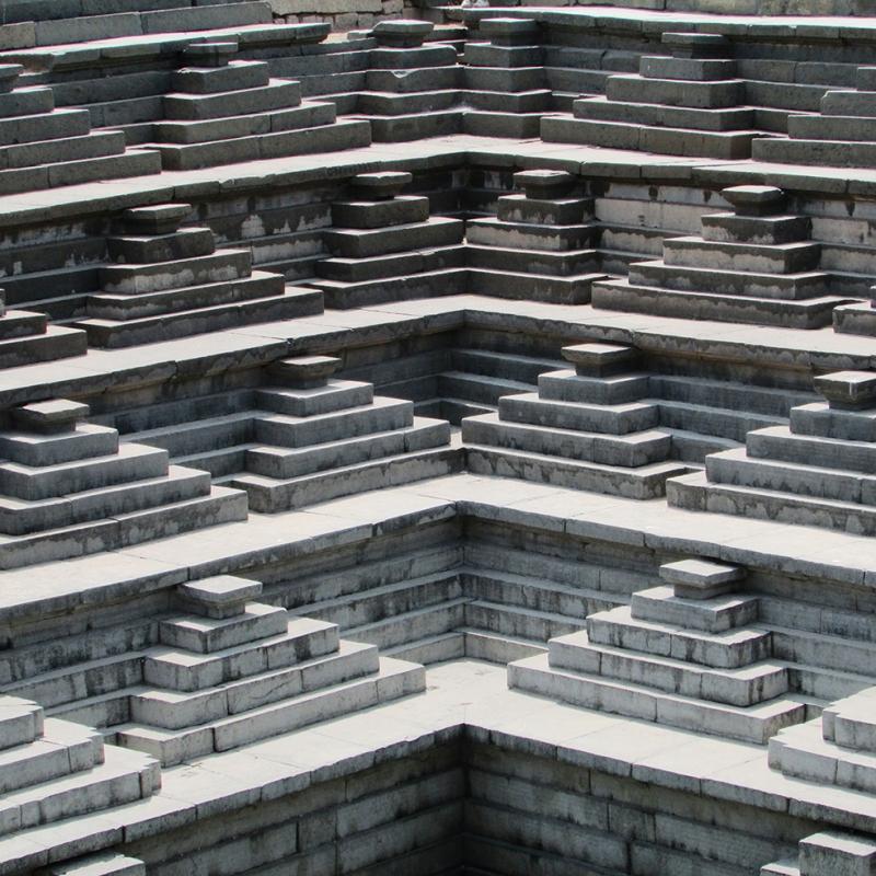 Adey Hampi Mimari Unesco Dünya Kültür Mirasları Kanvas Tablo