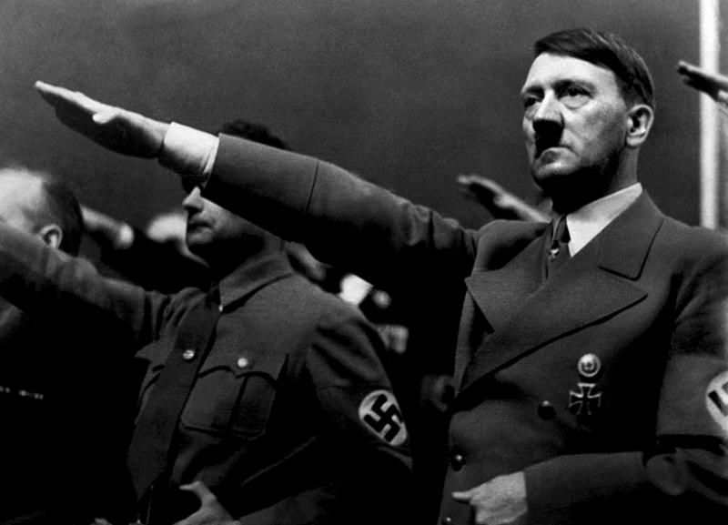 Adolf Hitler Ünlü Yüzler Kanvas Tablo