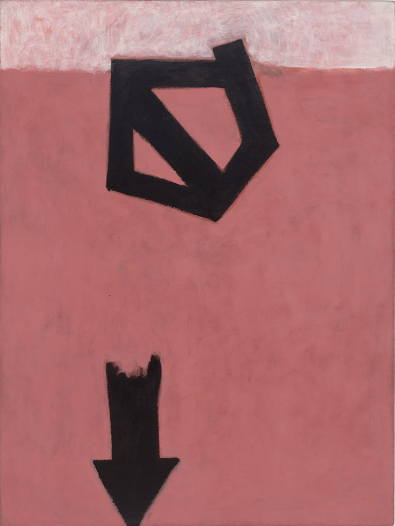 Adolph Gottlieb 2 Düşüş Oku Soyut Abstract Klasik Sanat Canvas Tablo