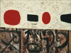 Adolph Gottlieb 3 Soyut Abstract Klasik Sanat Canvas Tablo