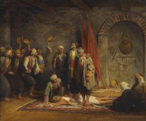 Adolphe Yvon Osmanlı Dönemi Yağlı Boya Sanat Kanvas Tablo