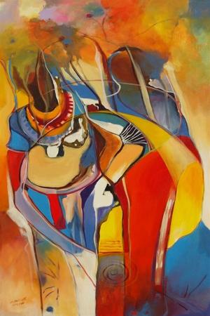 Afrikalı Kadınlar-1 Sanat Kanvas Tablo