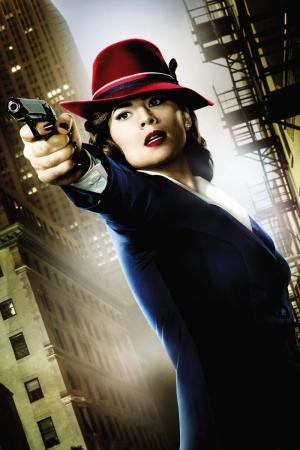 Agent Carter Sinema Kanvas Tablo
