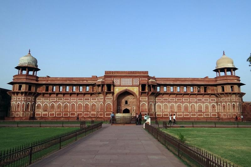 Agra Fort 2 Unesco Dünya Kültür Mirasları Kanvas Tablo