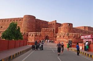 Agra Fort Unesco Dünya Kültür Mirasları Kanvas Tablo