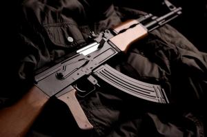 Ak 74 Kalashnikov 2 Askeri Kanvas Tablo