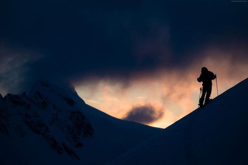 Alakaska Kayak Doğa Manzaraları Kanvas Tablo