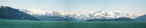 Alaska Panaromik Kanvas Tablo